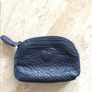 Brighton Navy coin purse